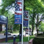 Budget Banner Mast - Bar and Grill