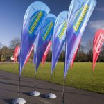 Blade Windchaser Flags - Lucozade