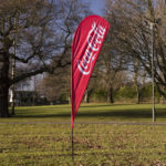 Blade Windchaser Flags - Coca Cola