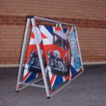 Double Sided Banner Frame - Mini