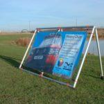 Heavy Duty Banner Frame