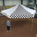 Pop Up Marquee - Chequered