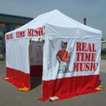 Pop Up Marquee - Real Time Music