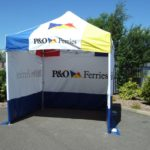 Pop Up Marquee - P & O Ferries