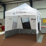 Pop Up Marquee - Apple
