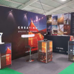 Kata Tipis Fabric Tension System Exhibition Stand