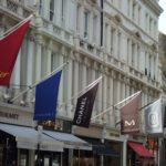 Short Wall Mounted Flagpole - Bond Street