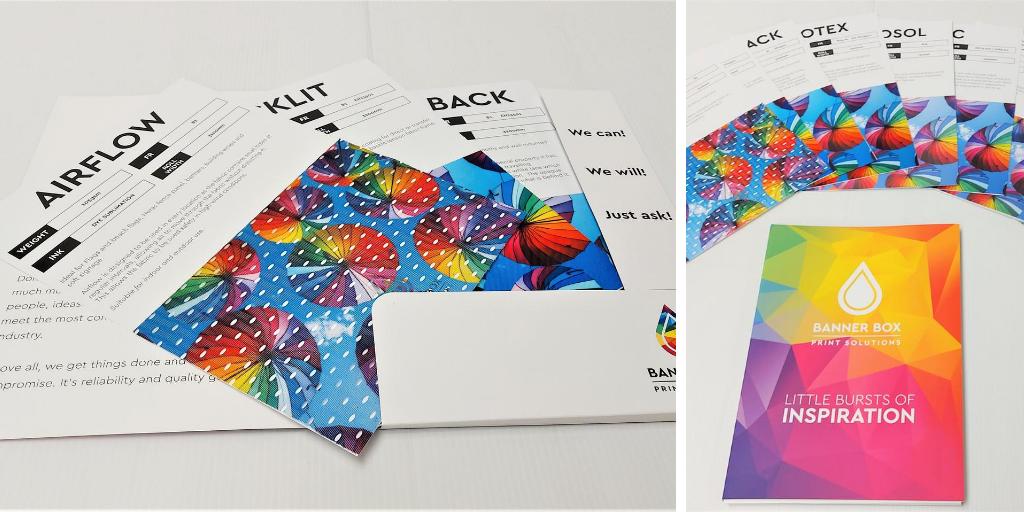 Banner Box Sample Pack Materials