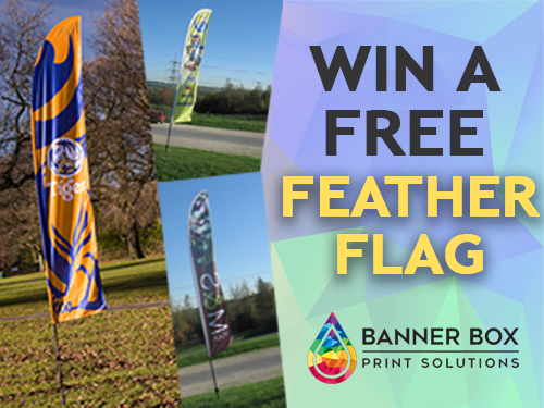 Win a FREE Feather Flag to celebrate the new sports season!