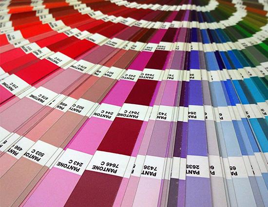Pantone Colour Swatch