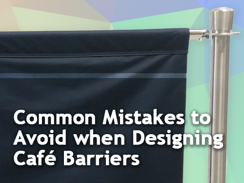 Common Mistakes to Avoid when Designing Café Barriers