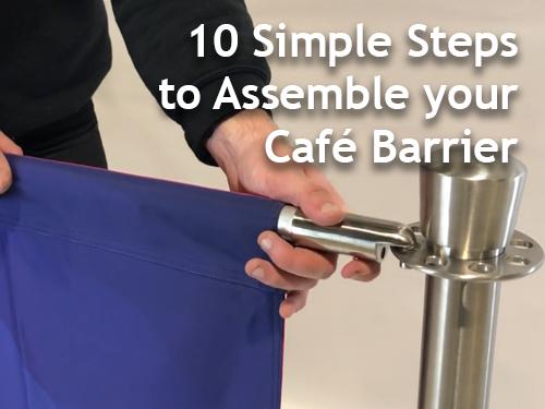 10 Simple Steps to Assemble Your Café Barrier