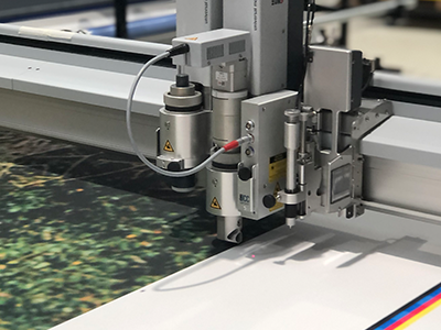 Zund Cutting Large Format Print