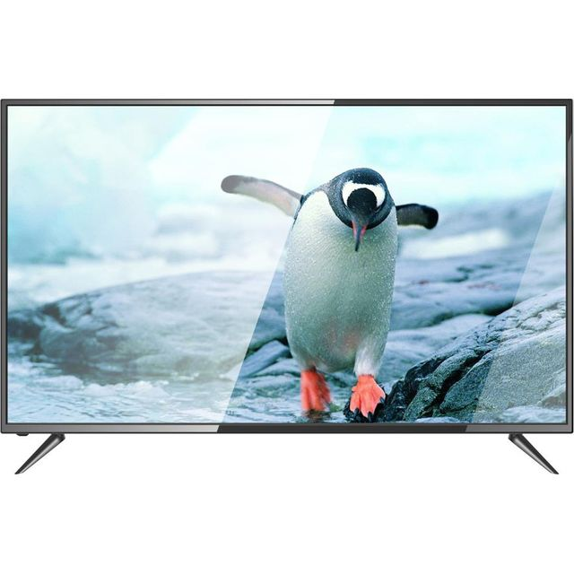TV with Penguin
