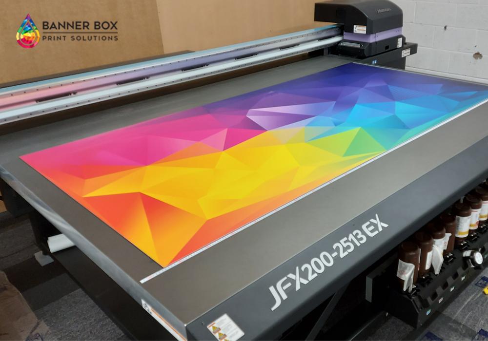 Large Format Printer New Machine