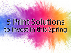 5 Print Investment