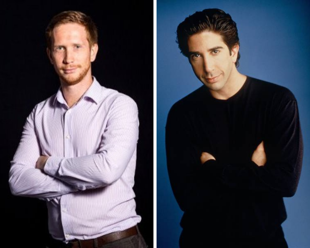 Simon and Ross Geller