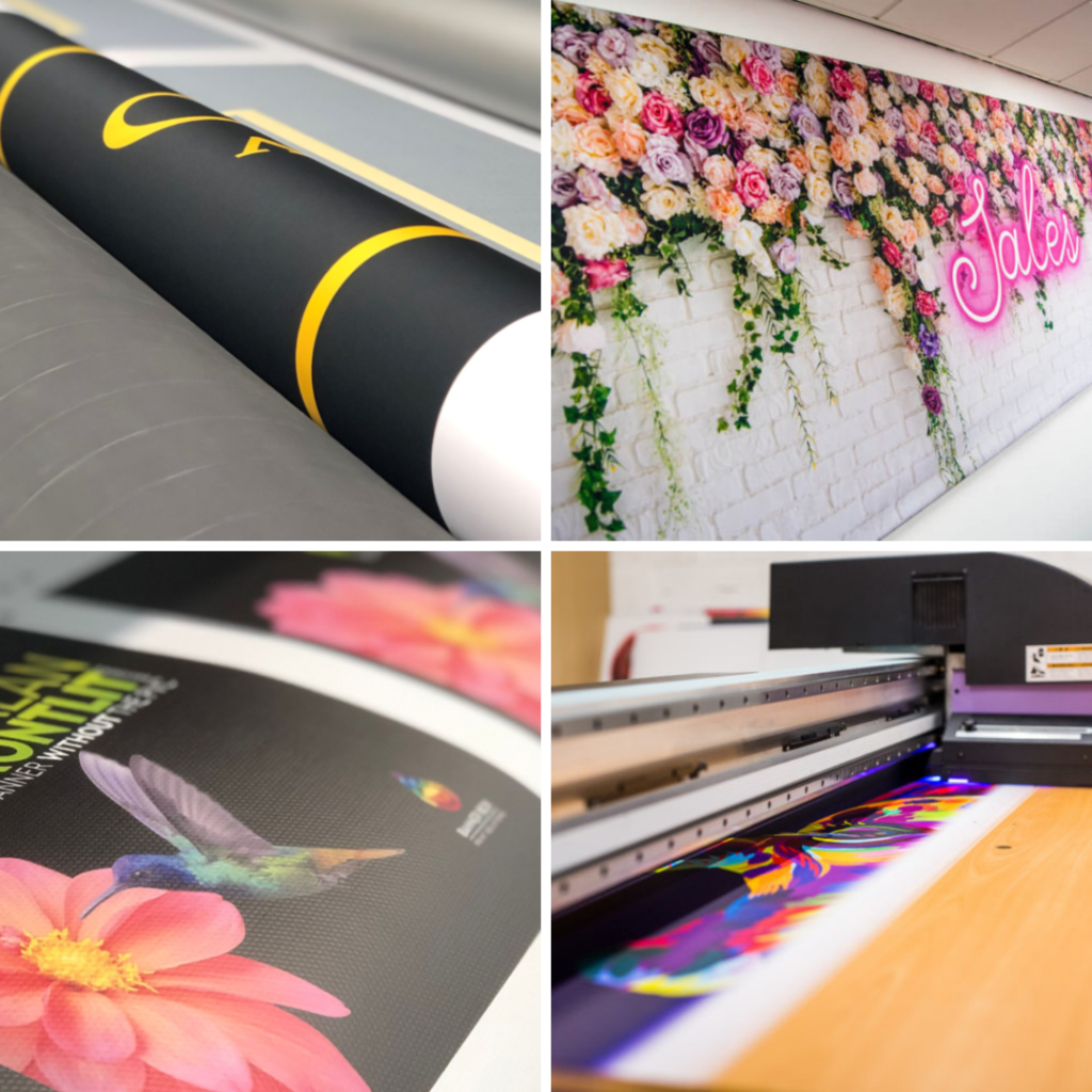 Banner Box Close Up Print Examples