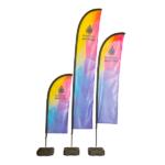 Aero Style Feather Flag