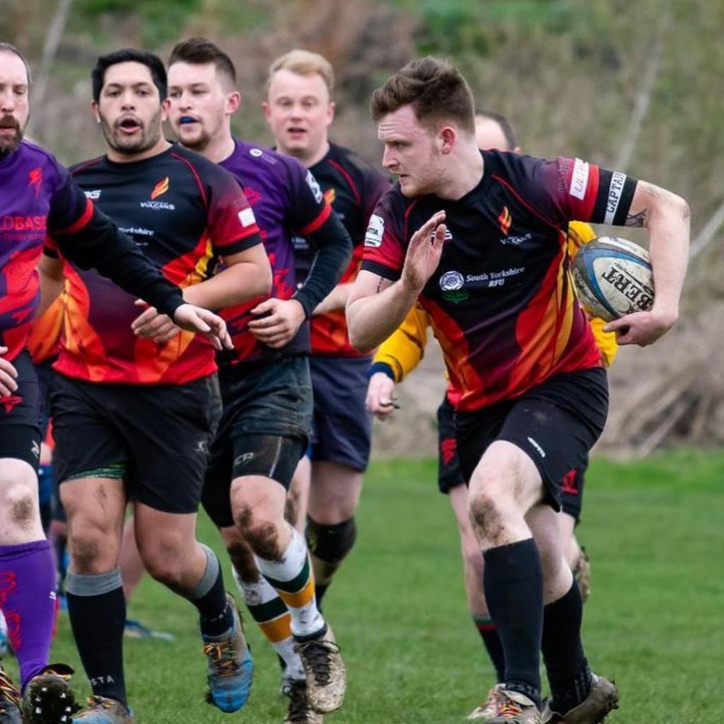 Michael Sheffield Vulcans Rugby